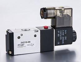 3V-210-08 DC24V Пневмораспределитель