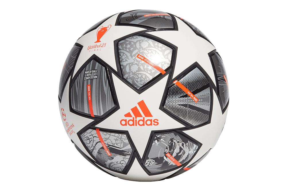 М'яч футбольний Adidas Finale 21 20th Anniversary UCL Competition Ball GK3467 №4