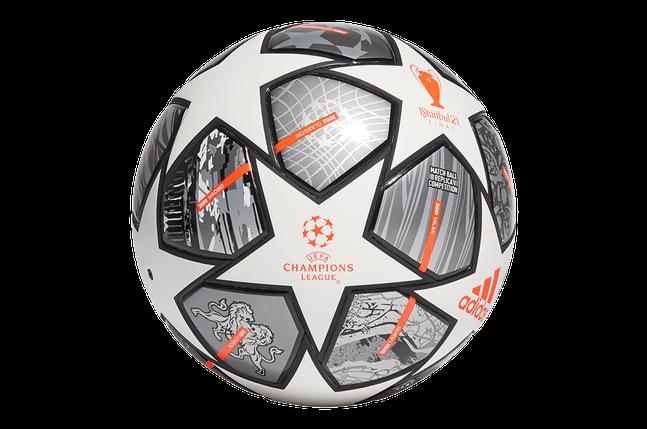 М'яч футбольний Adidas Finale 21 20th Anniversary UCL Competition Ball GK3467 №4, фото 2