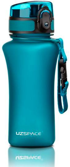 Пляшка для напоїв 350 мл Uzspace Wasser матова блакитна (серія 6007)