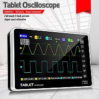 FNIRSI-1013D портативный планшетный осциллограф 100МГц выборка: 1 ГВ/с двухканальный