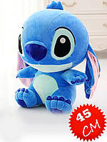 Мягкая игрушка-подушка Стич Синий 45 см
