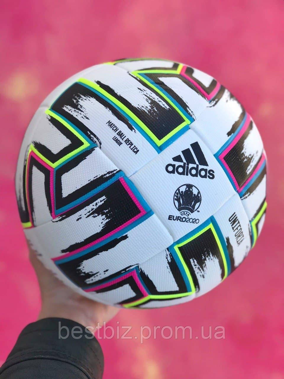 Футбольный мяч Adidas Uniforia Euro 2020  / мяч для футбола адидас