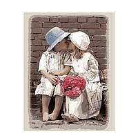 Рисование по номерам Первый поцелуй