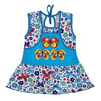 Платье для девочек (кулир)