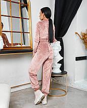 Жіночий велюровий спортивний костюм 642 (ФР), фото 2
