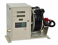 Раздаточная колонка 70л/мин для дизельного топлива с преднабором, Катушка с шлангом 15 м HOSEROL
