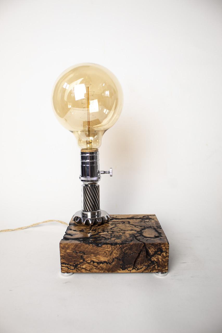Ексклюзивна настільна лампа Pride&Joy Industrial з фігурами Ліхтенберга