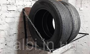 Полка для хранения колес настенная Эконом