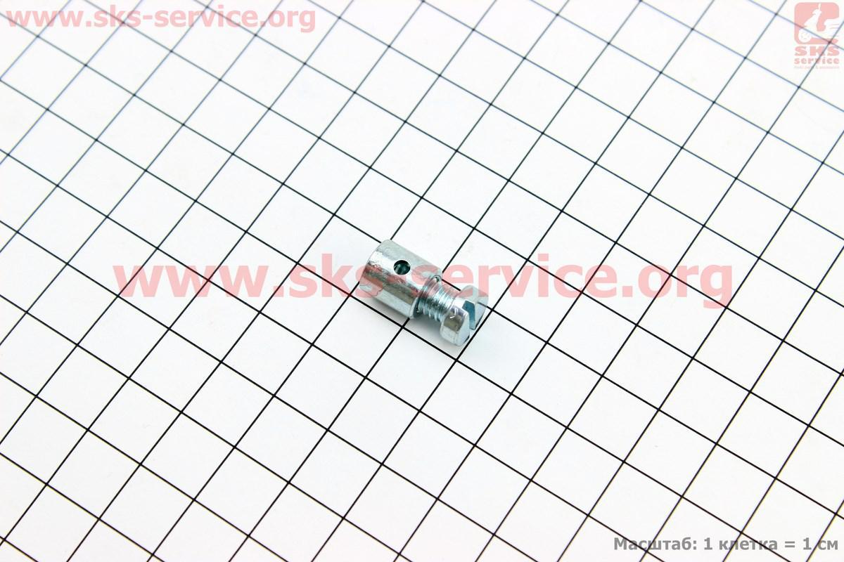 Затиск троса з болтом (діаметр 9 мм)