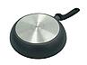 Сковорода з антипригарним покриттям 22см для індукції Con Brio СВ-2222, фото 2