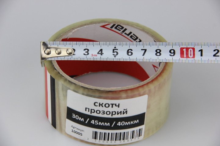 Скотч прозрачный 30м/45мм/45мкм