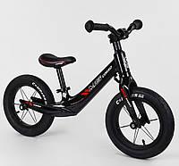 """Велобіг від """"CORSO"""" сталева рама, колесо 12"""" піна, фото 1"""