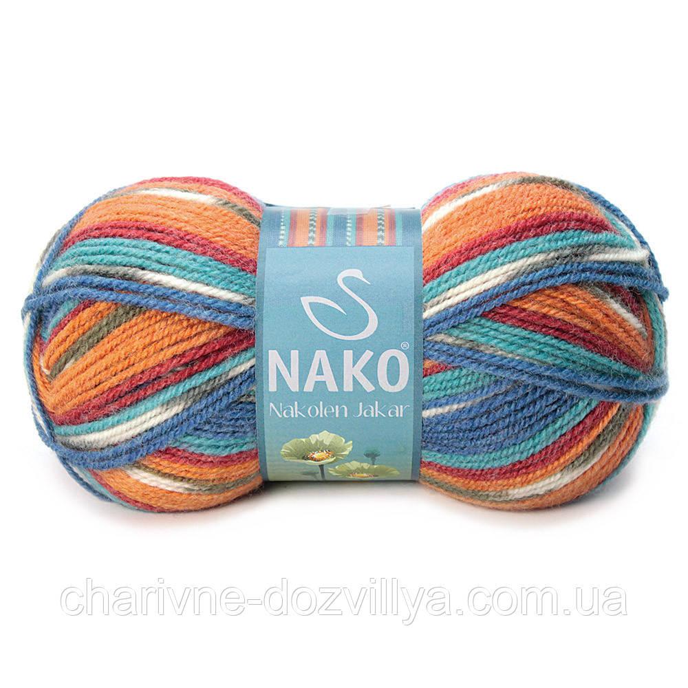 Пряжа для ручного и машинного вязания NAKO Nakolen Jakar