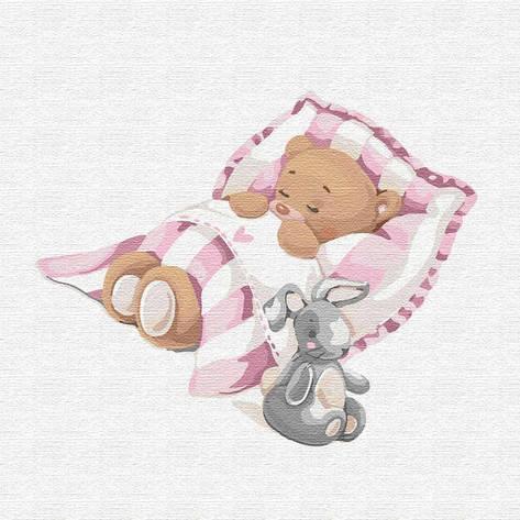 Картина по номерам Таинственные сны КНО2348, 30*30см Идейка, фото 2