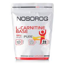 Л карнитин NOSOROG Nutrition L-Carnitine Base 100 g