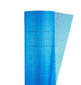 Сітка фасадна з стекловолокнная Синя FIBERGLASS 145 кг/м. кв. 1м*50м