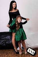 Платье мама + дочка, 2 цвета