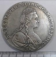 Монета рубль 1780 года СПБ №005 копия, фото 1