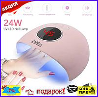 Лампа УФ для ногтей SUN X28, LED лампа для маникюра и педикюра гель лака Premium class