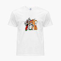 Футболка чоловіча Том і Джеррі (Tom I Jerry) Білий (9223-2089), фото 1