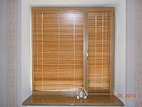 Горизонтальні дерев'яні жалюзі Classic 25 мм, фото 1
