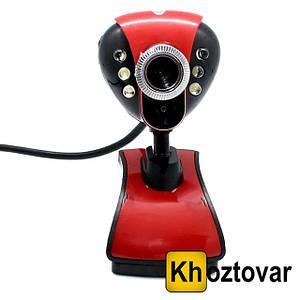 Веб-камера с микрофоном и Led подсветкой DC 899