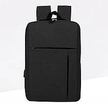 Рюкзак молодіжний Display чорний з USB (717753)