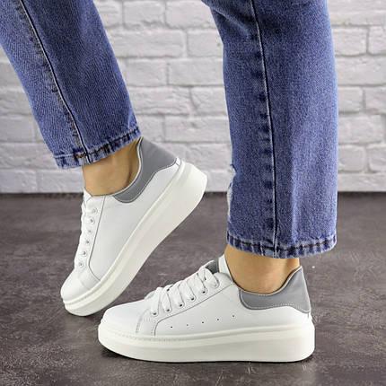 Жіночі кеди Fashion Fletcher 1654 36 розмір 22,5 см Білий, фото 2