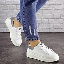 Женские кеды Fashion Fletcher 1654 36 размер 22,5 см Белый, фото 2