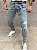 Модные стильные джинсы мужские зауженные