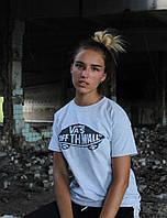 Світло-сіра футболка Vans