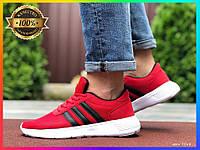 Мужские кроссовки (красные) Демисезонные Летние кроссовки Адидас