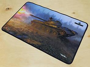 Ігрова поверхня коврик для миші Рейл танки WOT T54