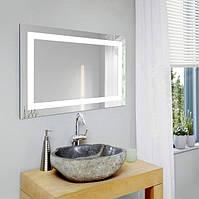 Зеркало настенное с LED подсветкой 800 х 500 мм