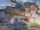 Килимок для мишки ігрова поверхня танки RAIL World of Tanks FV215b (183), фото 2