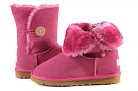 Угги детские UGG Baby Bailey Button Pink  (угг, оригинал)