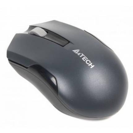 Мышь беспроводная A4Tech G3-200N Grey USB V-Track, фото 2