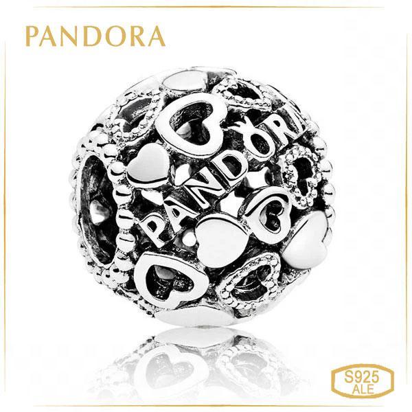 Пандора Шарм Сердце PANDORA 796461