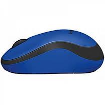 Мышь беспроводная Logitech M220 Silent (910-004879) Blue USB, фото 2