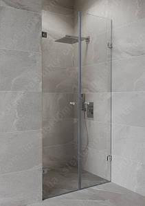 Двустворчатые двери в душ
