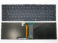 Клавиатура MSI GT62, GT72, GE62, GE72, GS60, GS70. GL62, GL72, GP62, GP72, CX62 (RU black with Backlit)