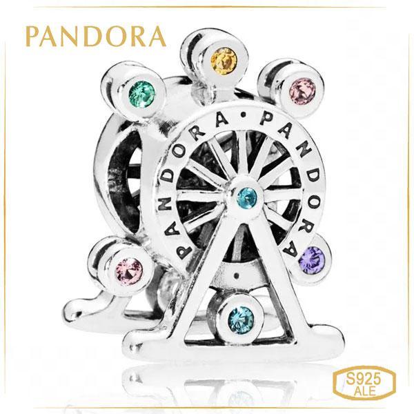 Шарм Цветное колесо Пандора Pandora 797199NLCMX