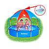 Каркасные ( сборно-разборные) бассейны Bestway Splash-in-Shade Play Pool 56193, 244х51 см.