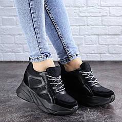 Женские стильные сникеры Fashion Misifu 2070 36 размер 23 см Черный