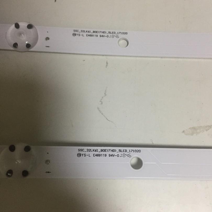 Світлодіодна лід підсвічування SSC_32LK61_B0E(FHD)_5LED_171020 для телевізора LG 32LK6190