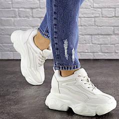 Женские стильные сникеры Fashion Penny 1673 36 размер 23 см Белый
