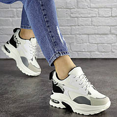 Женские стильные сникеры Fashion Watson 1680 38 размер 23,5 см Белый