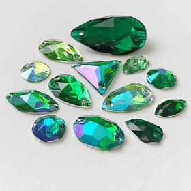 Зеленая гамма (Emerald, Green, Peridot)