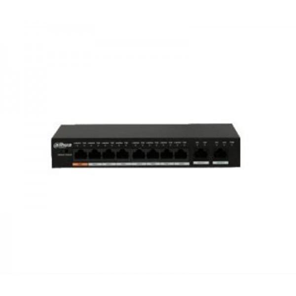 POE коммутатор Dahua DH-PFS3010-8ET-96
